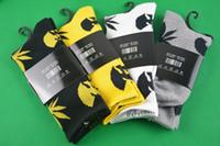 Wholesale 4 pairs Tide brand happy cotton socks popular basketball socks wu tang crew socks