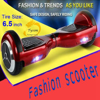 Wholesale Fashion Safest Electric scooter Hoverboard unicycle skateboard Balanced car Smart two wheels self balancing scooter Free ship