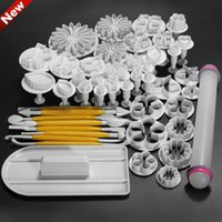 fondant - Cake Tools Sugarcraft Cake Decorating Fondant Icing Plunger Cutters Tools Mold Mould Biscuit Cookies Cutter