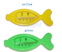 Wholesale 2015 hot sales cartoon bath thermometer Cute baby fish thermometer temperature meter water meter animals scales MDT0092
