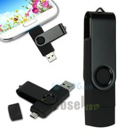 Wholesale Smart Phone USB GB Tablet PC USB Flash Drives OTG external storage micro G pen drive memory USB stick
