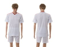 contact number - Mens Sports Soccer Uniforms Away White Jersey Short Kits for Season able custom name number mix order contact me for more