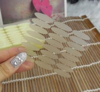 Wholesale Double eyelid stickers number L Stealth fiber Carnation thick style molding pieces