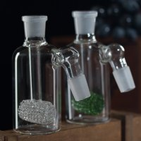 Wholesale MM MM Glass Honeycomb Percolator Ash Catcher Smoking Glass Pipe Bong Hookahs Accessories PA017