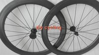 Wholesale High Quality mm Dimple Surface C Clincher carbon wheels carbon fiber road bike wheelset carbon wheelset bicycle wheels