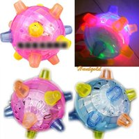 Cheap New Child Kids Pet Novelty Singing Dancing Bouncing Ball Safety Toy Best Gift