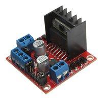 Cheap 2pcs lot L298N for DC Stepper Motor Driver Module Controller Board Dual H Bridge for Arduino Free Shipping