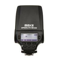Wholesale Flash Light MEIKE MK320 C TTL Speedlite Mini Flash Light Built in highlight LED for Canon D D Hot Shoe DSLR Cameras