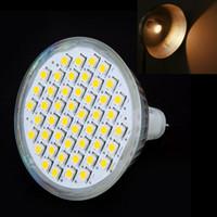 Wholesale 3W GU5 MR16 Leds SMD LED Light Lamp Bulb Spotlight Warm White Ultra brightness LM Led Spot Lamp Energy Saving