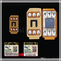 Wholesale Good quality R SIM R SIM RSIM Unlock Card Perfect unlock for iphone IOS8 X AT T T mobile Sprint WCDMA GSM CDMA