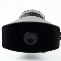 auto pa systems - New Van Truck PA System W Loud Horn V Car Siren Auto Max dB Sounds tone Auto Speaker Alarm Hot Selling