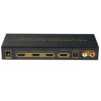 audio selector box - Hot selling New K HDMI MHL Switch Switcher Box Selector Out Audio Extractor Splitter ARC pc
