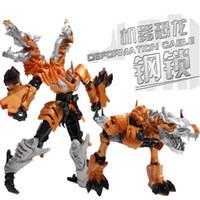 Wholesale Action figure toys for kids dinosaur Grimlock Deform Robot new educational toys