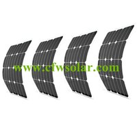 home solar power system - factory price of Flexible solar panel W w painel solar fotovoltaico with MC4 connector solar power for V solar system