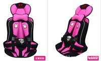 Wholesale High Quality Portable Babies Children Car Safety Booster Seat Cover Harness Cushion Colors Available