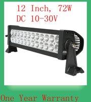 Wholesale 72W High Intensity Epsitar Car LED Work Lights Bar Spot Flood Beam Auto LED Driving Lamp Lighting Bulb FOR OFF ROAD WD ATV UTV SUV v v