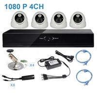 Wholesale 1080P MP Network DVR CCTV Kit of Surveillance with IP Camera TVL with IR POE Power Supply