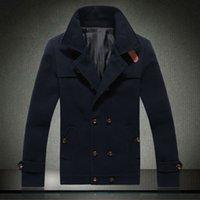 Wholesale Fall man winter warm men woolen jackets men Wool clothes winter brand men s Fashion jacket new popular coat