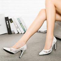 low heel dress shoe - 2015 Red Blue Black Sequins Bling Bling Wedding Dresses Shoes Elegant Modest Party Wear Bridal Shoes Low Heel Shoes