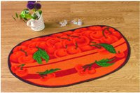 bath room rugs - Fruit carpets rugs The new rainbow carpet mats doormat fruit shape creative kitchen entrance waterproof bath carpets new arrival