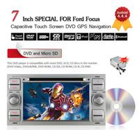 Argent 7inch 2DIN Android 4.4.4 Lecteur DVD de voiture pour Ford Transit / Galaxy / Focus / Mondeo / Fiesta / C-max / S-max / Kuga / Connecteur gratuit 8GB Carte CDVD0019