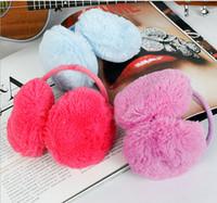 beautiful muffs - new beautiful Women s amp Men plush ear cover keep warm winter folding earmuffs