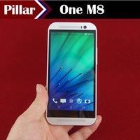 Wholesale HDC One M8 Quad Core MTK6582 GHz GB GB Android KitKat G WCDMA Single Micro Sim Card MP Camera Smart Phone S8 E8 S820