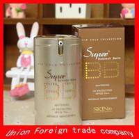 bb cream super gold - New Hot Gold Barrels super Plus skin Whitening BB Cream sunscreen SPF25 PA korean faced foundation makeup