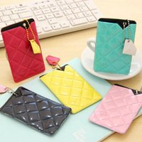 access diamond - Fashion Diamond Color Access Card Holder Promotion Bank Card Pocket Cute Credit Card Case Women Favors SH720