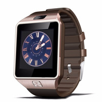 Android English Sedentary Remind High Quality DZ09 Bluetooth Smart Watch With SIM Card For Apple Samsung IOS Android Cell Phone Free Shipping By DHL