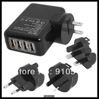 ac adapter amazon - Ports USB Wall Home Travel AC Power Charger Adapter For IPAD iPhone Samsung Amazon EU US UK AU plug