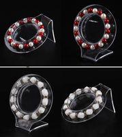 bangle bracelet stores - Top Grade Jewelry Stand Transparent Plastic Wrist Watch Display Holder Rack Store Shop Show Bracelet Bangle Stands PACK