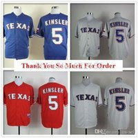 baseball kinsler rangers - 2015 New Ian Kinsler Jersey Texas Rangers throwback Jerseys Cool Base Mens Baseball Home Away White Grey Embroidered Logo