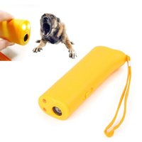 Wholesale Anti Barking Stop Bark Pet Dog Repeller Training Device Trainer With LED in1