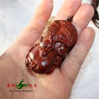 bamboo wood bats - Ping An authentic Indian lobular rosewood bat pendant hand pieces wood crafts ornaments Jushi shipping