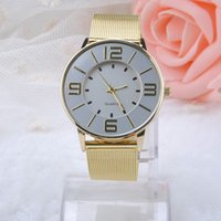 Wholesale Fashion Wristwatches Full Stainless Steel Gold Quartz Watches Women Dress Watch Casual Watch Luxury Watches relogio feminino MHM385