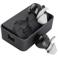 Wholesale Sport Headset Syllable D900 Black Bean Wireless Bluetooth Earphone Charging Station Powerbank Earbuds