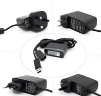 Wholesale Replacement xbox360 Kinect Adapter Power Supply for XBOX360 Kinect AC Adapter Game Accessories with Retail Packing
