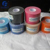 Wholesale 100PCS CE rohs sport skinesio taping kinesiologytape football kinesiotape kinesiology tape