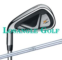 Cheap Left hand Golf Clubs X2 HOT PRO Iron Set With N.S. PRO950GH R S Steel Shaft #4-9PAS Free Ship
