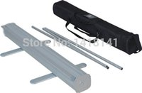 Wholesale 10PCS cm Aluminum Snap Top Support Bar And Pole For Roll Up Banner Display