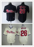 Wholesale Phillies Baseball Jerseys Men Utley white stripe Camo Green Blue Jerseys stitched Top quality Mix Order Free Fast Shipping