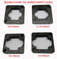 Wholesale 4 eMMC eMCP test Socket borders limiter frame guider mm mm mm mm for clamshell structure