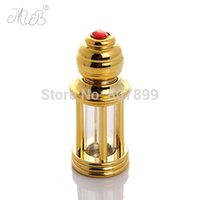 Wholesale DHL ml Roll On Bottles For Essential Oils Plastic Dropper Small Tower Of Glass Bottles For Personal Care