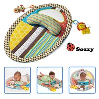 Wholesale Sozzy childhood game blanket baby eductional funny toys waterproof tall figure doll play mat blanket baby mattress