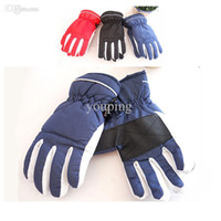 Cold-weather street wear & fash... best snowboard gloves - Best quality Boys Girls Kids Ski Snowboard Thermal Gloves Winter Windproof Waterproof Outdoor Mittens for Children