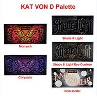 Wholesale Kat Von D Shade Light Eye Contour Palette Chrysalis Innerstellar Shade Light Monarch SHADE LIGHT CONTOUR Eyeshadow Palette
