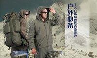 Wholesale New TAD Style Men s Soft Shell Outdoor Waterproof Hooded Jacket Coat Windbreaker