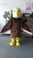 Wholesale OISK Eagle Hawk Mascot Costume Adult Size Outfit Plush Doll mascots costumes for adult Fancy Dress