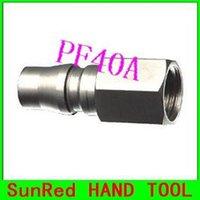 auto repair tools brand - SunRed BESTIR international brands PF40A self locking quick connectors Auto Repair Tool pearl nickel surface NO